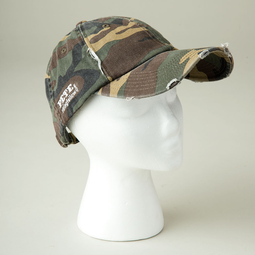 Camo PETE Hat - Front View