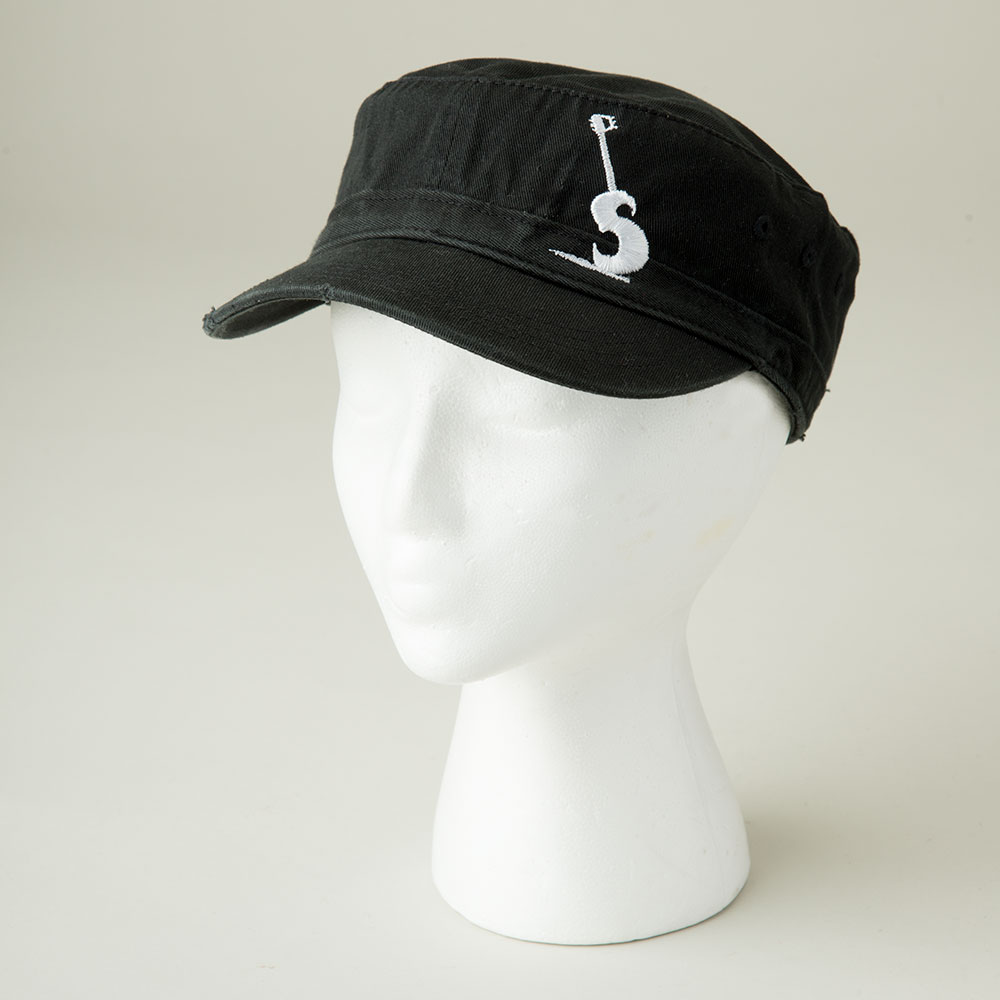Cargo Black PETE Hat - Front View