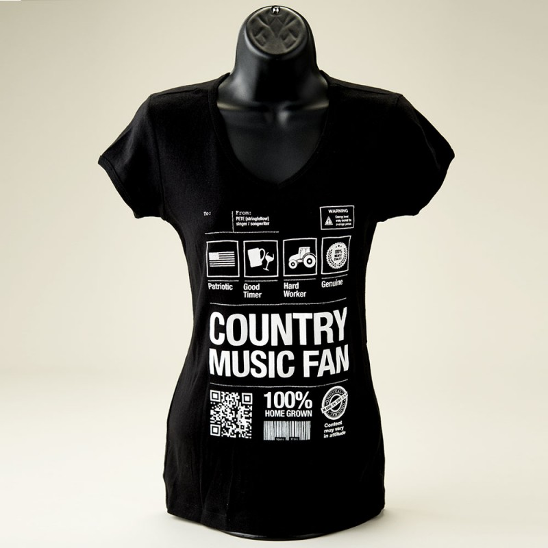 Country Music Fan (female) - Front View