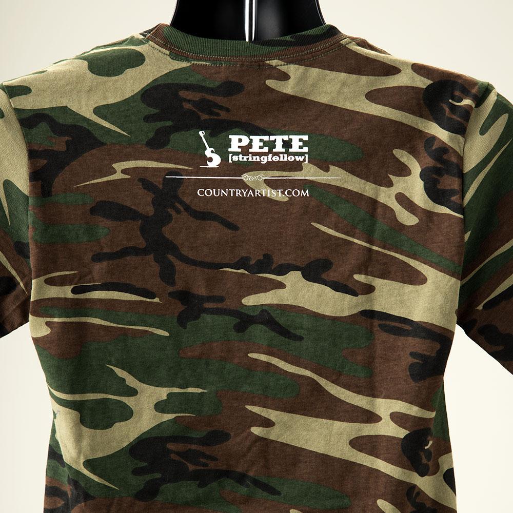 Camo PETE T-Shirt - Back View
