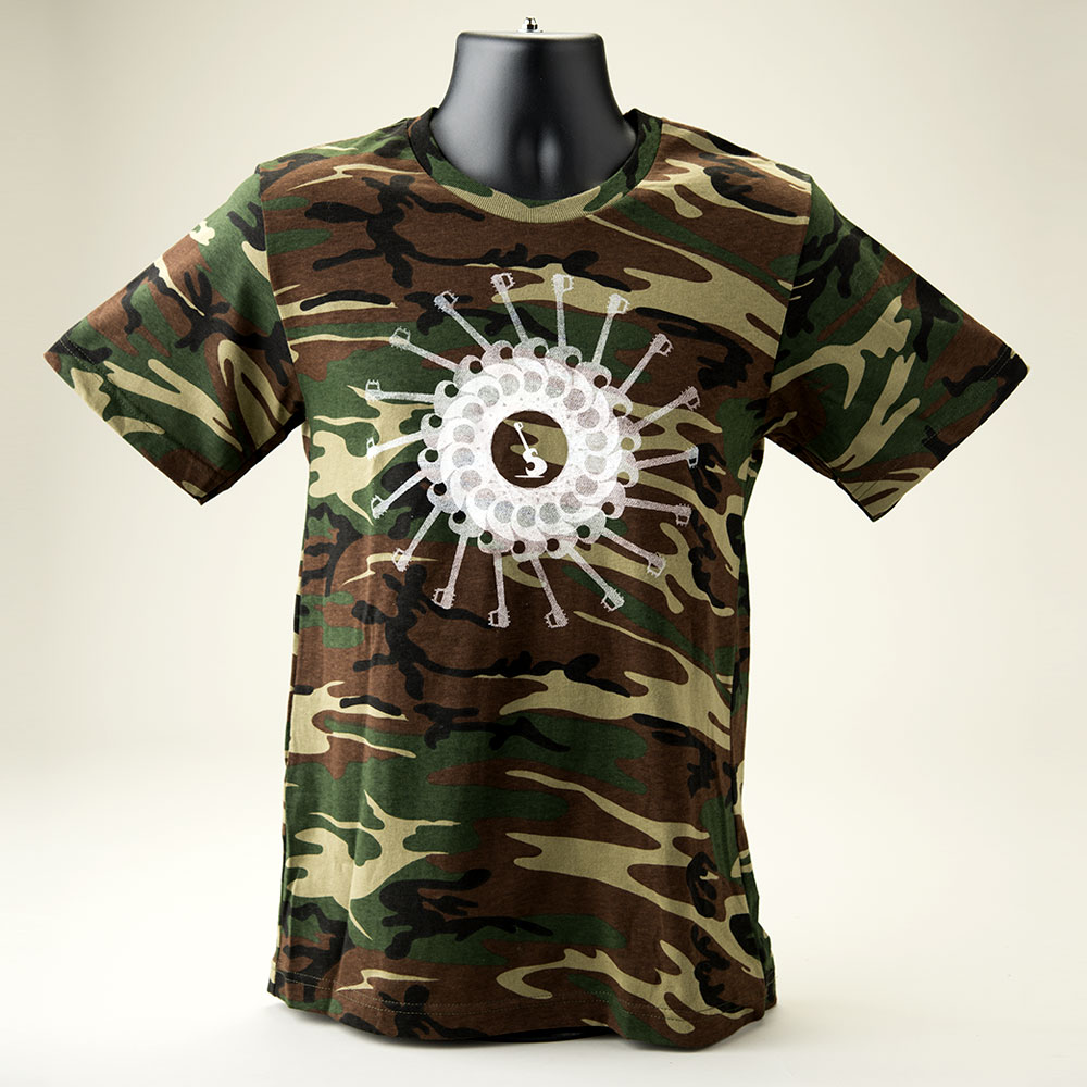 Camo PETE T-Shirt - Front View