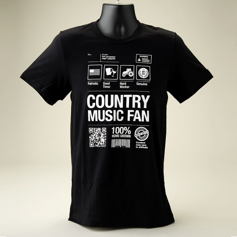 Country Music Fan (male) - Front View