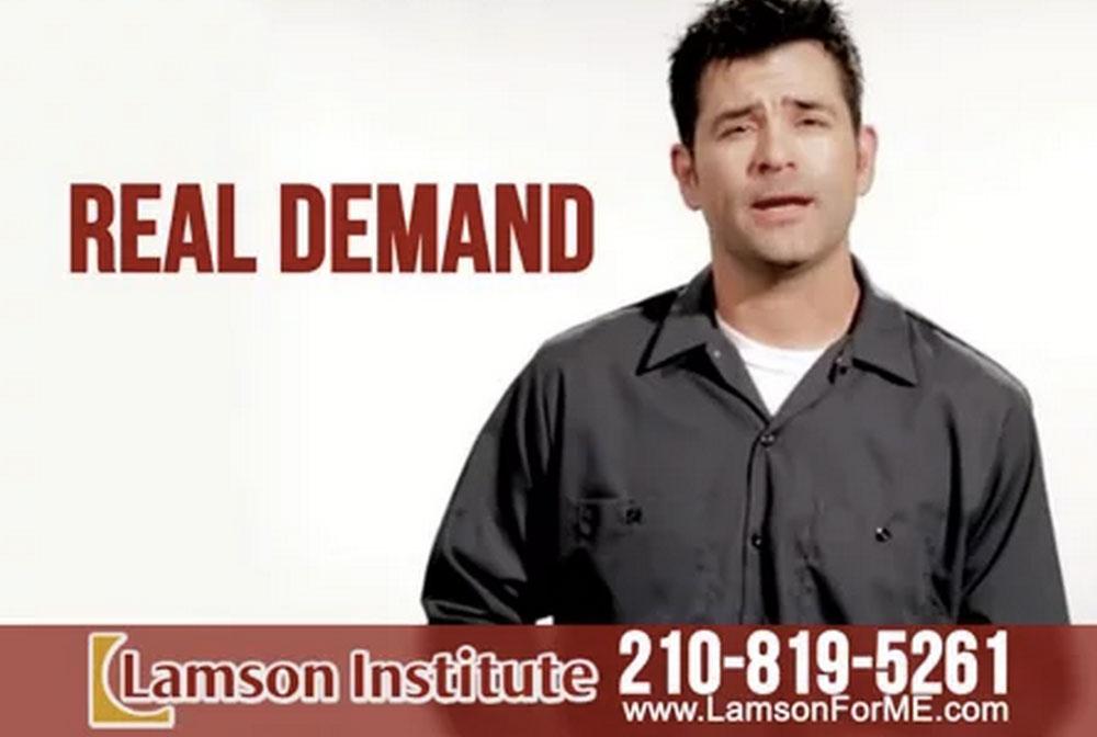 Lamson Institute TV Spot